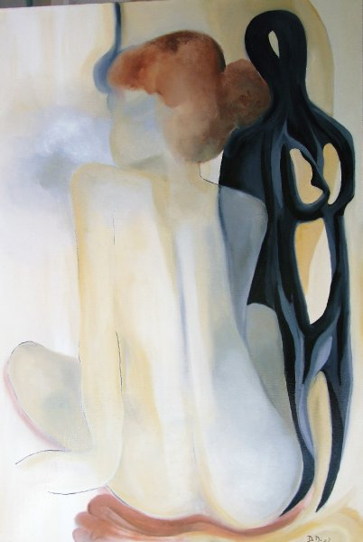 Secret Thoughts  2008  60 x 80 cm  Oil on Canvas  SOLD