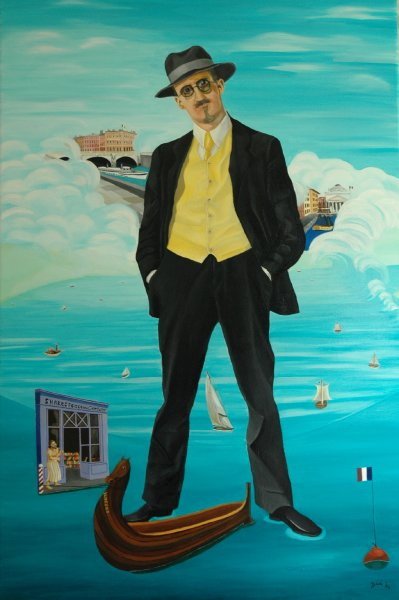 The Exile  2004  120 x 80 cm  Oil on Canvas